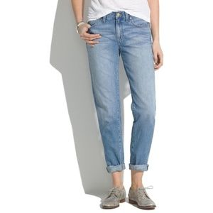 Madewell Medium Wash High Rise Boyjean Jeans